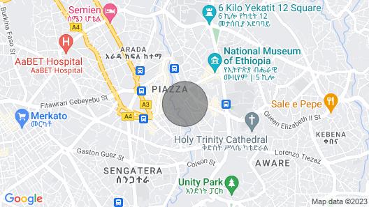 New City Center Apartment Map