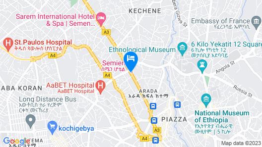 Sarem International Hotel Map