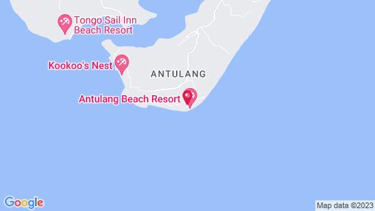 Antulang Beach Resort Map