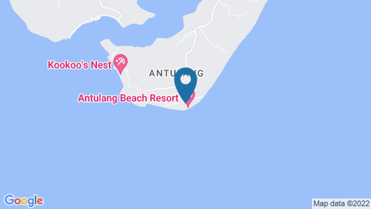 Antulang Beach Resort Map