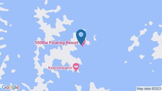 500 Rai Khao Sok Floating Resort Map