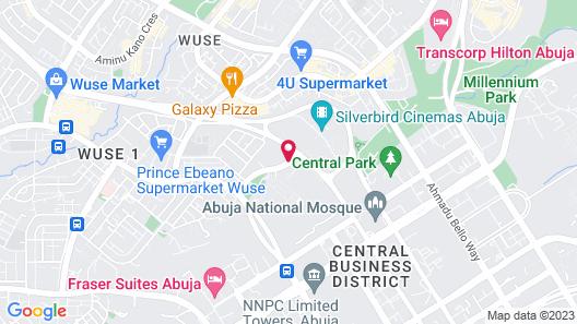 Sheraton Abuja Hotel Map
