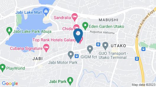 Top Rank Hotels Galaxy Map