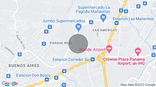 Casa de Flores Map
