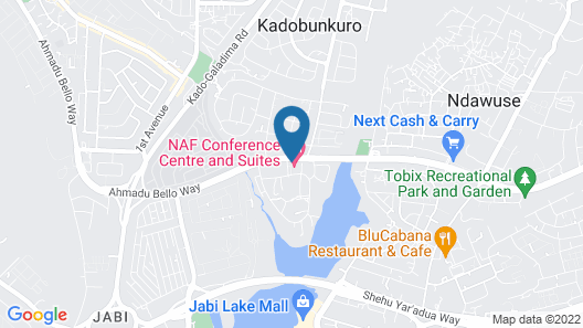 NAF Conference Centre and Suites Map