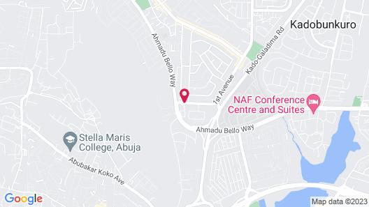 Dalchifit Suites Map