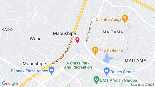BON Hotel Abuja Map