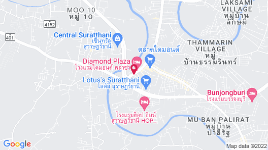 Marlin Hotel Map