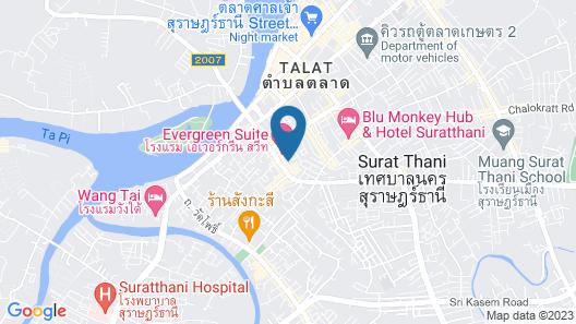 Pattara Apartment Suratthani Map