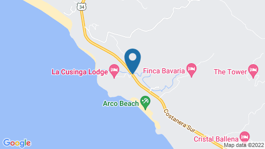 La Cusinga Lodge Map