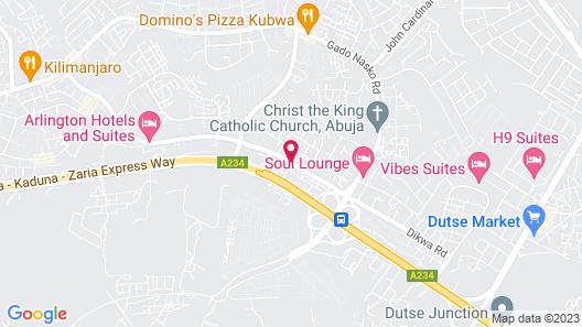 Accord Hotel & Resort Ltd Map
