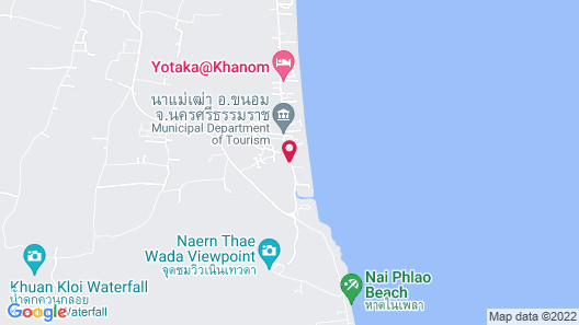Khanom Sunrise Beach Hotel Map
