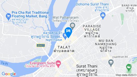 Rajthani Hotel Map