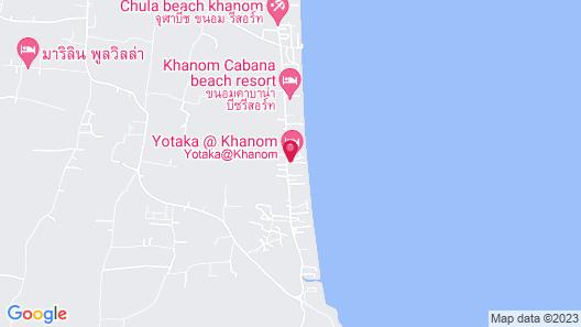 Yotaka Khanom Map