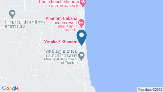 Yotaka Khanom Map
