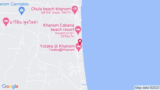 CC Beach Resort Map