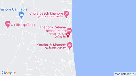 Baanchaylay Resort Map
