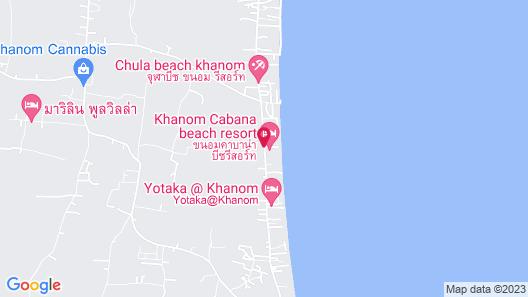 Khanom Cabana Beach Resort Map
