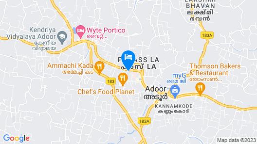 Hotel Yamuna Map