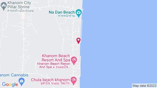 Baan Chomlay Resort Map