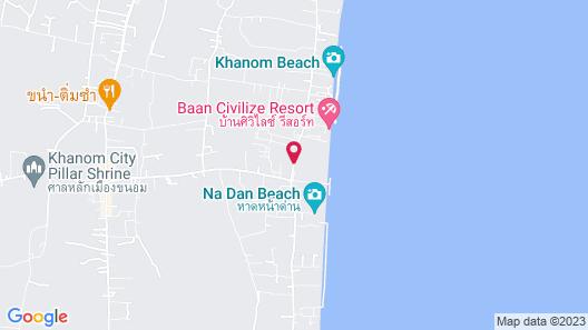 Sea Mountain Khanom Hotel Map