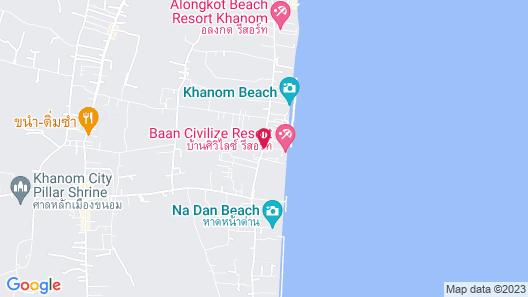 Baan Civilize Resort Map