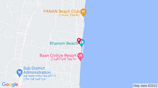 Chaithalay Khanom Resort Map