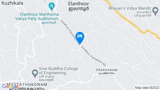 Mannaas Veedu Retreat & Spa Map