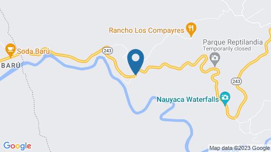 Natuga Ecolodge and Natural Reserve Map