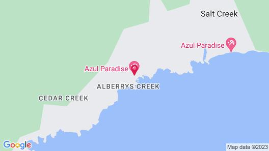 Azul Paradise Map