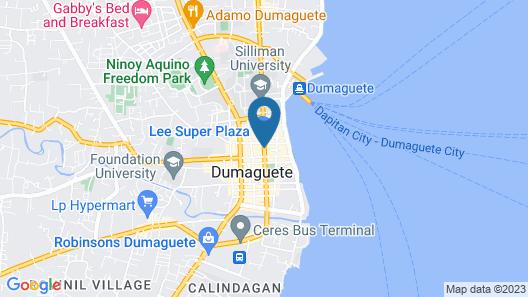 Asia Novo Boutique Hotel - Dumaguete Map