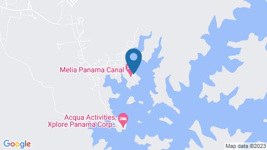 Melia Panama Canal Map