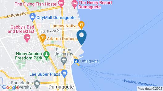 The Henry Resort Dumaguete Map