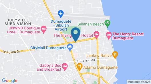 Dumaguete Royal Suite Inn Map