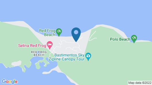 Red Frog Beach Island Resort Map