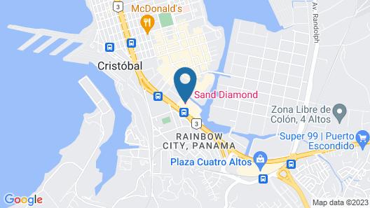 Sand Diamond Hotel Map