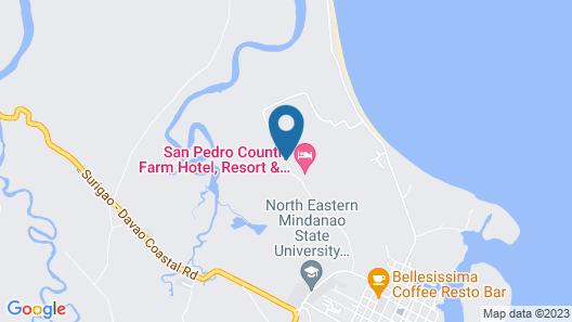 San Pedro Country Farm Resort Inc Map