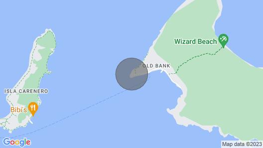 Oceanfront Custom Home Vacation Rental Map