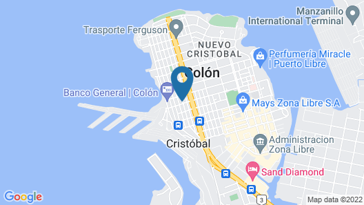 Hotel Sotelo Map