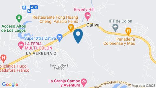 La Granja Campo y Aventura Map