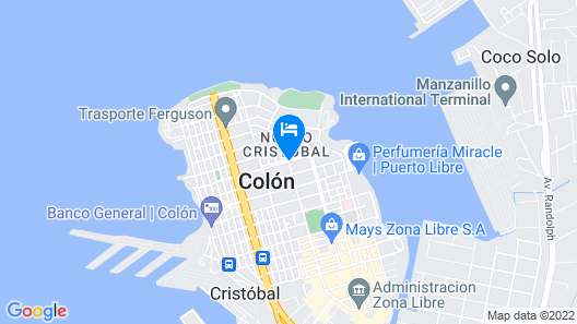 Hotel Meryland Map