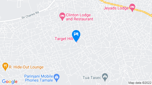 Target Hill Hotel Map