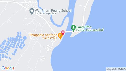 Lam Poh Beach Resort Map