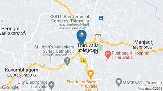 Capital O 45944 Club 7 Map