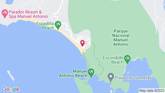 Hotel Manuel Antonio Map