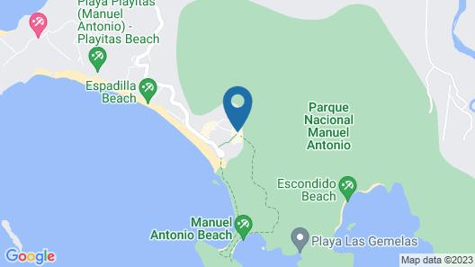 Hotel San Bada Map
