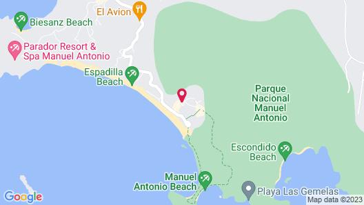La Vela Boutique Hotel Map