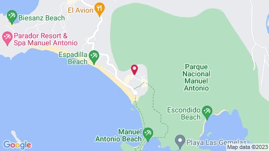 Hotel Villabosque Map