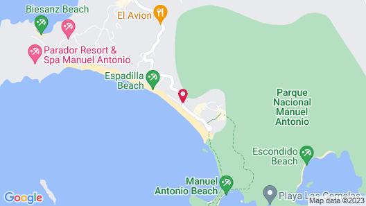 Verde Mar Waterfront Hotel Map