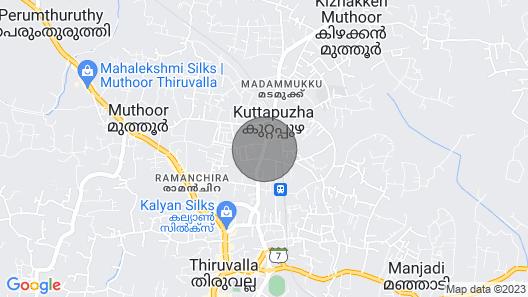 GRAND HOME STAY Thiruvalla,kunnamthanam,Pathanamthitta Dist.Kerala, Map